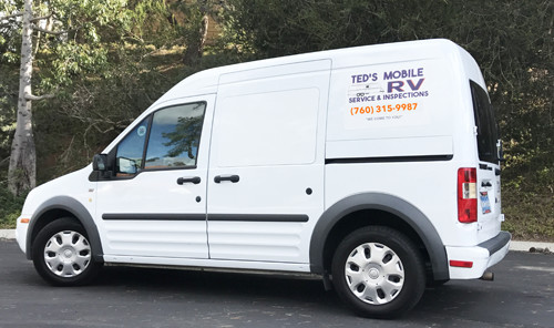 Image of Ted's RV Inspection truck